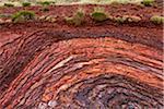 Rock Erosion, Hamersley Gorge, The Pilbara, Western Australia, Australia