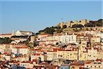 Castelo de Sao Jorge, Alfama, Baixa, Lisbon, Portugal