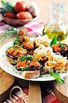 Mixed Tuscan crostini