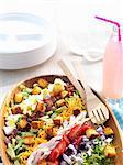 Cobb Salad; Close Up