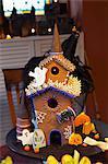 Halloween Haunted Gingerbread House