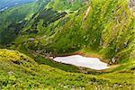 Image of a beautiful carpathian mountains. Marmaros massif in eastern Carpathians.