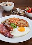 Tasty looking full English breakfast