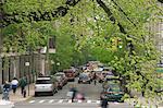 USA, New York, New York City, traffic on street