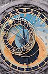 Astronomical clock, Town Hall, Old Town Square, Prague, Czech Republic