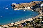 Lidos Beach, Rhodes, Greece, Europe