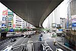 City Road Underneath a Flyover, Japan