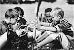 Children With Sports Equipment