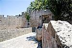 Castle, Rhodes City, Rhodes, Dodecanes, Greece, Europe