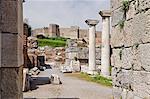 Ruin of the Basilica of St. John, Selcuk, Turkey
