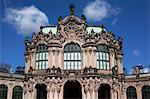 Wallpavillon, Zwinger, Dresden, Saxony, Germany, Europe