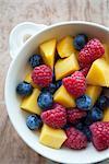 Colourful fruit salad
