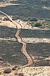Isla de Lobos, the track to the Volcano
