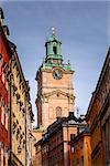 Cathedral of Saint Nicholas (Storkyrkan) Bell Tower, Stockholm, Sweden