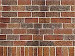 aged brown brick wall