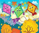 Kites theme image 5 - eps10 vector illustration.