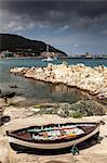 Fishing boats near Marciana Marina, Elba Island, Italy