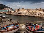 Pair of fishing boats Marciana, Elba Island, Italy