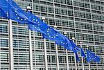 European parliament building, Brussels, Belgium