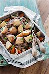 Irish stew (stew with lamb and potatoes, Ireland)