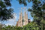 View of the Sagrada Familia