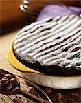 Soufflé-style chocolate cake