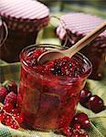 Four fruit jam