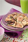 Fig carpaccio with foie gras