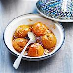 Apricot,honey and almond Tajine