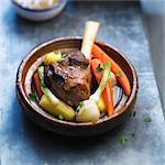 Knuckle of lamb and vegetable Tajine