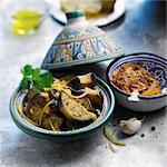 Eggplant and confit lemon Tajine