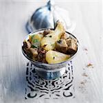 Veal and caramelized pear Tajine