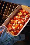 Tomatoes and Pélardon