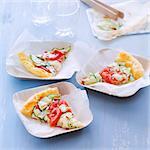 Tomato-zucchini savoury tart