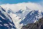 Johns Hopkins Inlet, Fairweather Range, Glacier Bay National Park and Preserve, Southeast Alaska, United States of America, North America