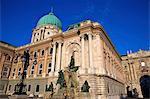 Matthias Fountain, Buda Castle, UNESCO World Heritage Site, Budapest, Hungary, Europe