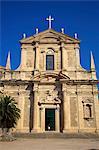 Jesuit Church of St. Ignatius, Dubrovnik, Croatia, Europe
