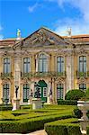 Ceremonial Facade, Palacio de Queluz, Lisbon, Portugal, South West Europe