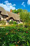 Anne Hathaway's Cottage, Shottery, Stratford upon Avon, Warwickshire, England, United Kingdom, Europe