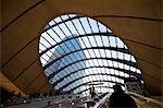 Underground Station, Canary Wharf, Docklands, London, United Kingdom, Europe
