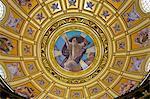 Interior of St. Stephen's Basilica, Budapest, Hungary, Europe