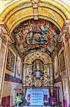 Interior of the Capela de Nossa Senhora do Pilar, Sabara, Belo Horizonte, Minas Gerais, Brazil, South America