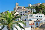 Ibiza town, Ibiza, Balearic Islands, Spain, Europe