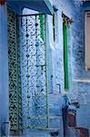 Blue buildings, Jodhpur, Rajasthan, India, Asia