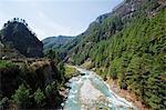 Bhote Kosi River, Solu Khumbu Everest Region, Sagarmatha National Park, UNESCO World Heritage Site, Nepal, Himalayas, Asia