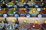 Spice stall at Mahane Yehuda market, Jerusalem, Israel, Middle East