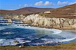 Coastline on Atlantic Drive, Achill Island, County Mayo, Connaught (Connacht), Republic of Ireland, Europe