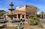 Fountain on Main Street, Yuma, Arizona, United States of America, North America