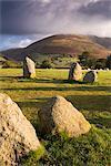 Castlerigg Stone Circle in the Lake District National Park, Cumbria, England, United Kingdom, Europe