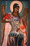 Depiction of St. Michael the Archangel, Ukrainian Greek Catholic church of St. Vladimir the Great, Paris, France, Europe